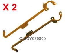 2 x Lens Shutter Flex Cable For Canon IXUS700 IXUS750 IXUS900 SD500 SD550 SD900