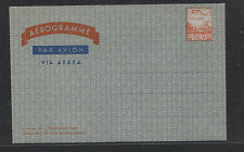 Italy  air letter sheet  unused     MS 0120