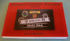 BRAND NEW BOOK GERMAN COMBAT AWARDS 1935-1945