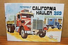 AMT PETERBILT CALIFORNIA HAULER 359 1/25 SCALE MODEL KIT
