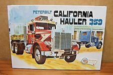 AMT PETERBILT CALIFORNIA HAULER 359 1/25 SCALE MODEL KIT