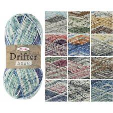 King Cole Drifter Aran Knitting Yarn Acrylic 100g Wool
