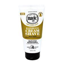 Soft Sheen Carson Magic Bald Head Razorless Cream Shave Stop Razor Bumps 6oz