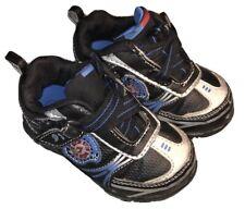 Boys Baby Shoes Circo Size 6 Black/Blue
