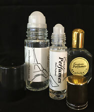 "Cologne Body Oils for Men Roll-on Long Lasting perfume oil 1/3 oz to 2 oz ""S"""