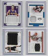 2015-16 National Treasures Kevin Duckworth Jersey Card /99 (Bottom Right)