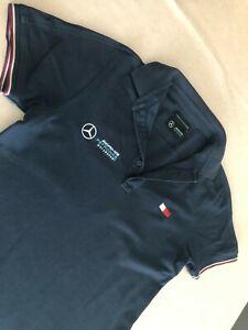 Herren T-Shirt Polo Shirt AMG Petronas Tommy Hilfiger Spezial Edition Gr. M