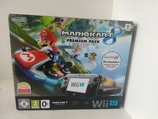 Nintendo Wii U 32gb Mario Kart 8 Premium Pack PAL Version in Box Tested Working