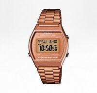 CASIO Uhr Retro Watch Armbanduhr - B640WC-5AEF - rosegold - NEU