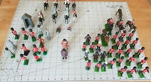 BRITAINS SOLDIER MODELS OF MARCHING SCOT'S GUARDS ETC