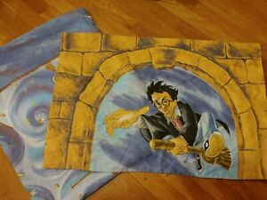 Harry Potter Quidditch Double Flat Sheet And Pillowcase