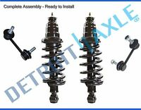 Fit 2003 04-2011 Honda Element 2 Complete Rear Strut & Spring + 2 Sway Bar Links