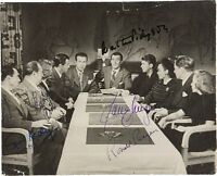 RONALD REAGAN - PHOTOGRAPH SIGNED WITH CO-SIGNERS
