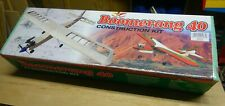 BOOMERANG 40 TRAINER KIT  BY SEAGULL MODELS - NEW+ ACCESSORIES