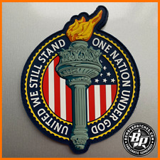 United We Still Stand Liberty Torch Morale Patch, Full Color