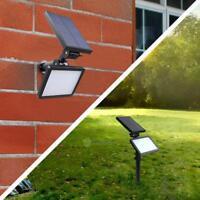 48LED Solar Power Garden Lamp Spotlight Outdoor Lawn Landscape Waterproof Lights