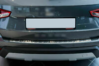 Seat Arona KJ7 2017Up Chrome Rear Bumper Protector Scratch Guard S.Steel