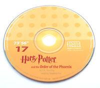 Harry Potter Order Phoenix Stephen Fry Audio Book CD SPARE DISC: SEVENTEEN 17