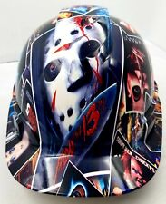 Vented Cap Hard Hat Custom Hydro Dipped Osha Approved Horror Show Scary