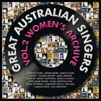 GREAT AUSTRALIAN SINGERS Vol. 2 Women's Archive CD BRAND NEW