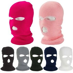 Army Tactical Mask 3 Hole Full Face Mask Ski Mask Winter Caps Balaclava Hood Hat