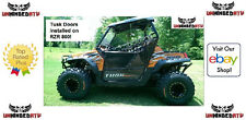 Tusk Aluminum Suicide Doors with Nets Fits: Polaris RZR S 800 2009–2014
