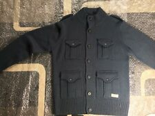 Mens Large Navy Dissident Smart Jacket Brand New Condition