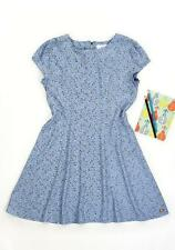 Matilda Jane Follow Me Arrow Dress 12 Girl's Blue Viscose Hello Lovely 435 Nwt