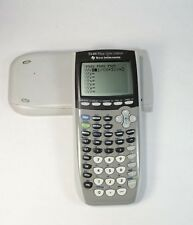 Texas Instruments Ti-84 Plus Silver Edition Graphing Calculator Fast Free Ship