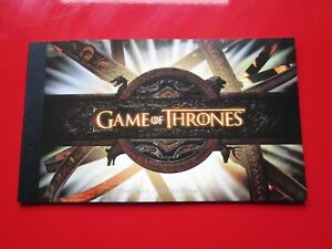 2018 Game Of  Thrones Prestige Booklet 21 Stamps Royal Mail Presentation Booklet