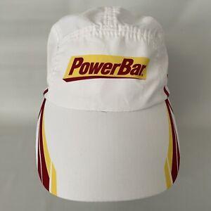 Headsweats Yellow PowerBar Coolmax Strapback Cycling Running Hat 5-Panel
