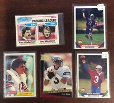 NFL Football Lot of 5 Trading Cards Joe Montana ShopTradingCards.com