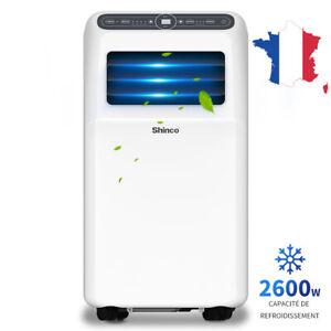 Climatiseur mobile Shinco 3.5kW 9000BTU jusqu'à 34m²