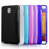 Note 3 Case, Samsung Galaxy Note3 cover, Mobile Soft Jelly Case Note 3 screen