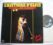 *JOHNNY FARAGO Histoire d'Elvis Presley NM- CANADA QUEBEC 1977 Place des Arts LP