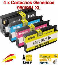 Pack 4 colores Cartucho compatible HP 950 951 XL OfficeJet Pro 8100 8600 8610