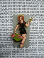 HARD ROCK CAFE GUADALAJARA - SEXY BLACK UNIFORM WAITRES - GIRL OF ROCK GOR 2 PIN