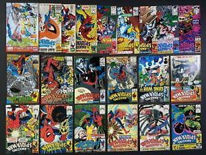 Run of (21) The Amazing Spider-Man +Annuals (1981-96) #224-379 Marvel Comics