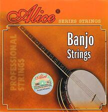 BANJO SAITEN - SAITEN FÜR ZUPFINSTURMENTE - FÜR 4- und 5-saitige Banjo - NICKEL