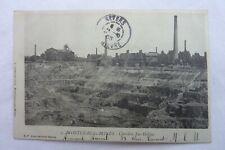CPA 71 - Montceau - les Mines - Carrière Saint-Hélène  1903  Réf E / 09