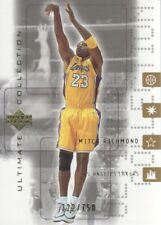 2001-02 Ultimate Collection #27 Mitch Richmond 322/750 Los Angeles Lakers