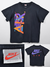 Vtg 90s Nike Air Men's Sz Large Double-Sided Single Stitch USA Graphic T-Shirt