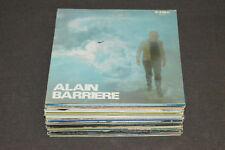 ALAIN BARRIERE 25 LP LOT VINYL ALBUM COLLECTION Barrière Pop Chanson Succes +