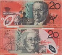 1994 Australia CFU 1ST $20 FA94 961666 Fraser&Evans Polymer Banknote Issue r416a