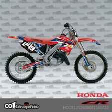 GRAPHICS DECALS STICKERS FULL KIT FOR HONDA CR125R CR250R 2000-2001
