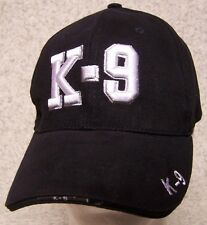 Embroidered Baseball Cap Military K-9 Corps NEW 1 hat size fits all