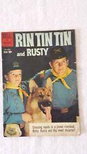 COMIC BOOK RIN TIN TIN and RUSTY #33 1960 GD+