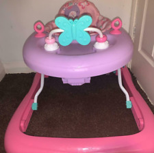 Girls baby walker collapsible for easy storage