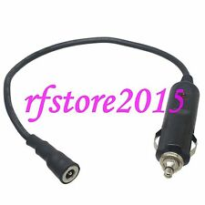 Car Cigarette Lighter Male to metal DC Power5.5x2.1mm barrel 18AWG 1FT Wire