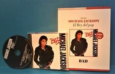 Michael Jackson  '85 BAD CD + BOOK For COLLECTORS Spanish Limited